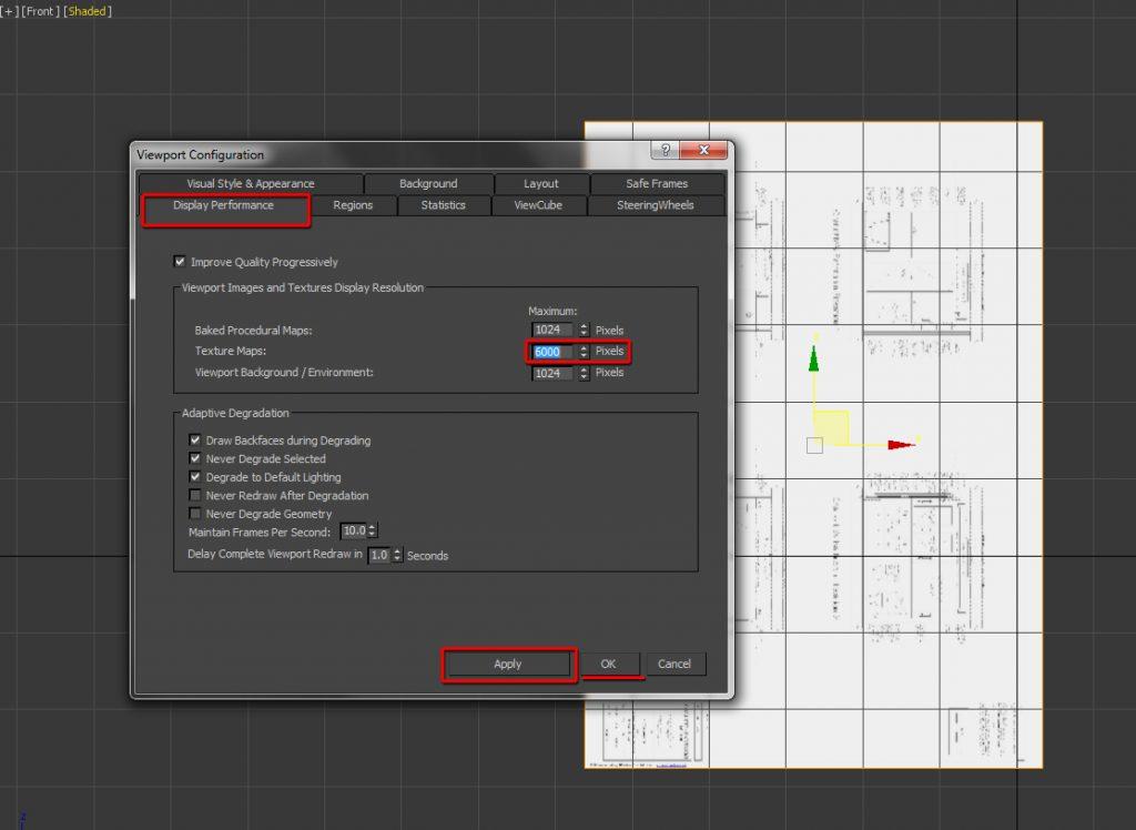 Open the Viewport Configuration dialog